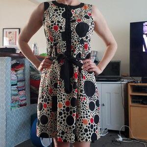 Kensie Dot Dress Size Small